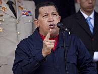 Уго Чавес отправился в турне по дружественным странам
