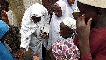 Жители Нигерии