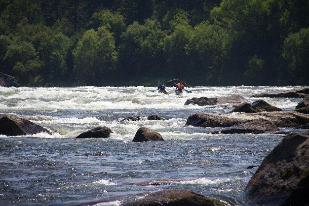 Река Ка-Хем, Тыва