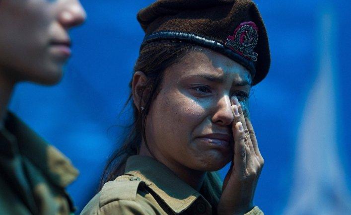 Похороны Тцафрира Бар-Ора, одного из 13 солдат, погибших в столкновениях в районе Шиджаийа
