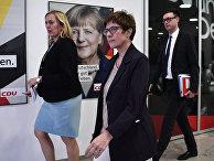 Генеральный секретарь ХДС Аннегрет Крамп-Карренбауэр в Берлине