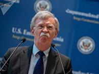 Советник США по национальной безопасности Джон Болтон в посольстве США в Ереване