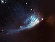 Звезда Цефей, сфотографированная телескопом «Хаббл»