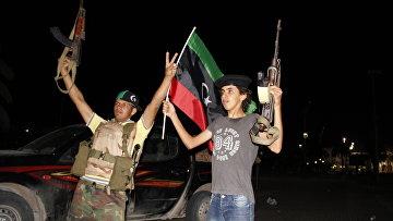 На ливийском пограничном пропускном пункте