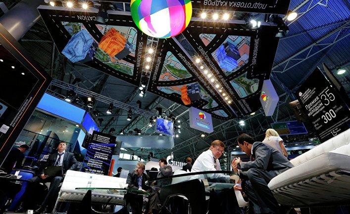 Петербургский международный экономический форум 2015 (ПМЭФ). День первый