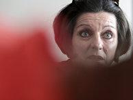 Лауреат Нобелевской премии Герта Мюллер на конференции в Бухаресте
