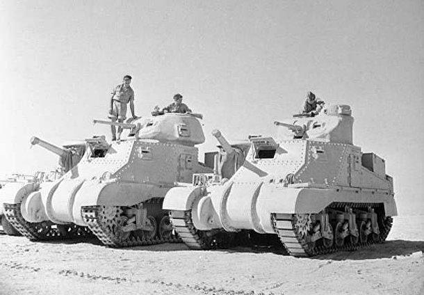 M3 «Ли», американский средний танк периода Второй мировой войны