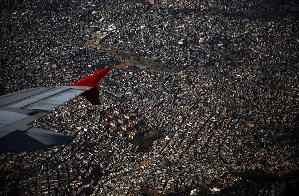 Проект Reuters «За пределами поля»: вид на Сан-Паулу