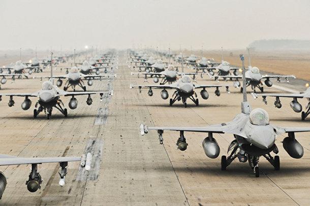 Американский легкий истребитель четвертого поколения «Дженерал Дайнэмикс F-16 «Файтинг Фалкон»