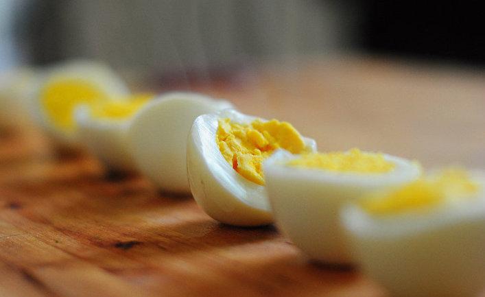 Сваренные вкрутую яйца