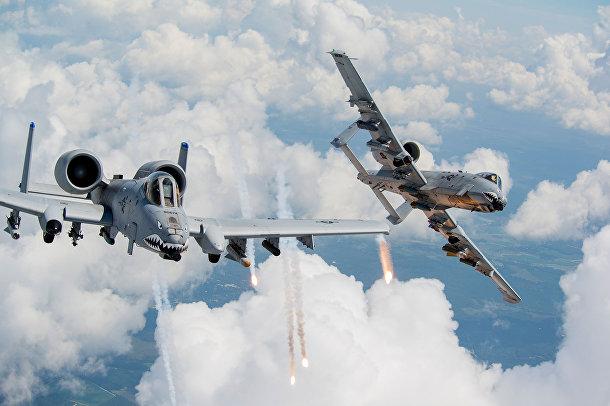 Штурмовики A-10 Thunderbolt II