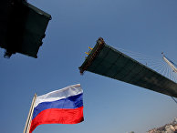 Строительство вантового моста через бухту Золотой Рог