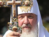 Визит патриарха Кирилла в Киев