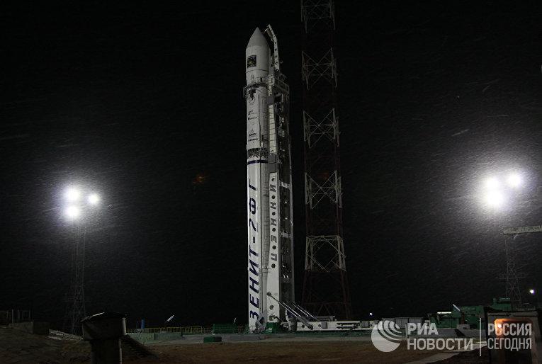 """Пуск ракеты """"Зенит-2SБ"""" с межпланетной станцией """"Фобос-Грунт"""""""