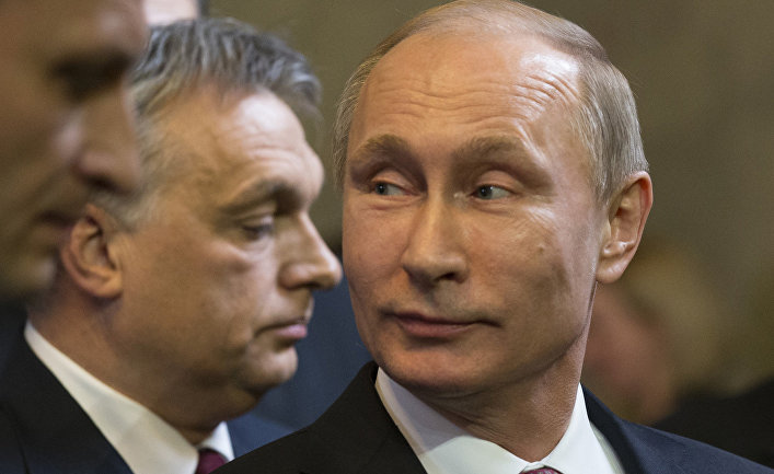 Визит Владимира Путина в Будапешт
