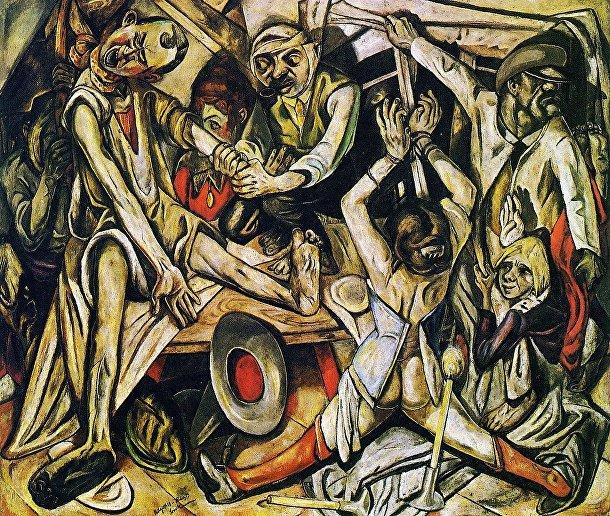 Макс Бекманн «Ночь», 1918-19