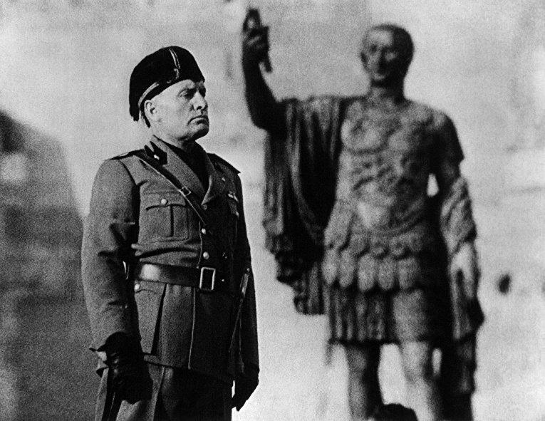 Бенито Муссолини в фильме «Желтый цезарь»