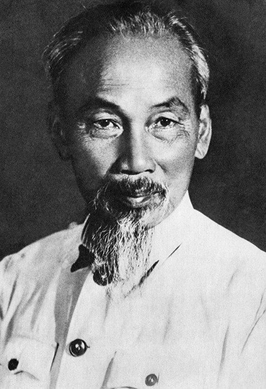 Вьетнамский политический деятель Хо Ши Мин