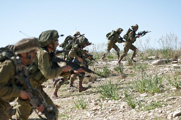 Мобильный радар в израильской армии
