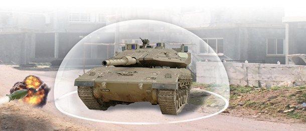 Трофи – израильская система активной танковой защиты