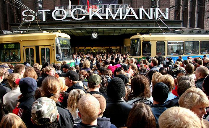 Магазин Стокманн в Хельсинки, Финляндия