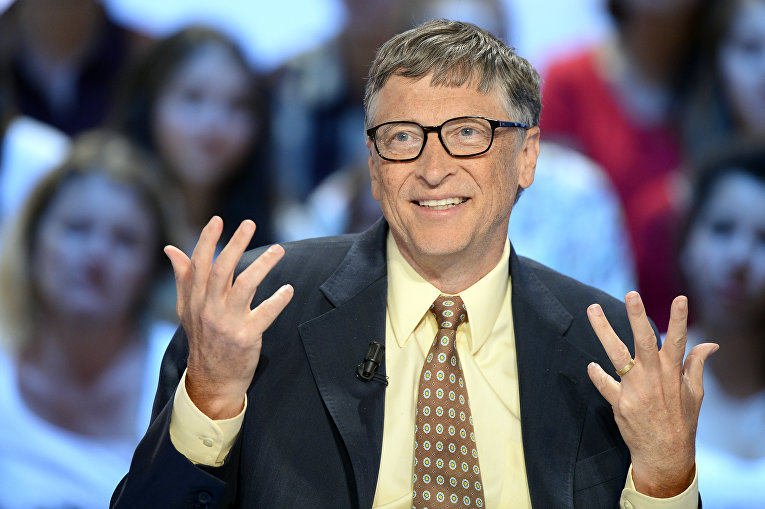 Американский миллиардер Билл Гейтс, сооснователь Microsoft
