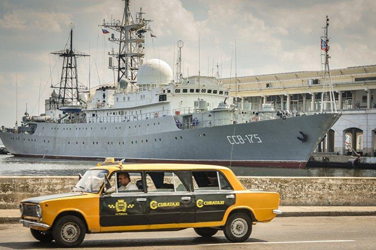Российский корабль «Виктор Леонов»