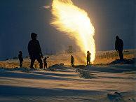 Добыча газа на полуострове Ямал