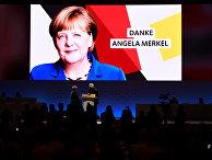 7 декабря 2018. Ангела Меркель выступает на съезде ХДС, прежде чем покинуть пост председателя партии
