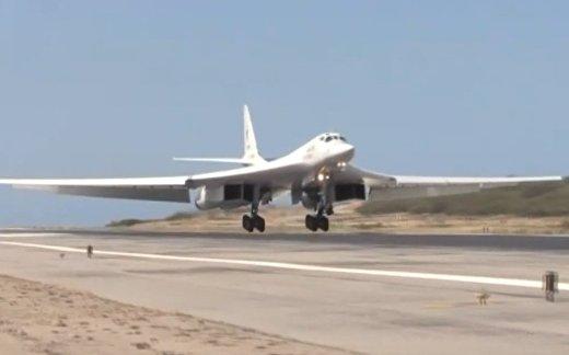 Ту-160 совершили перелет в Венесуэлу