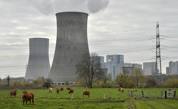Новая угольная электростанция в Германии, введенная в строй после решения об отказе от атомной энергии