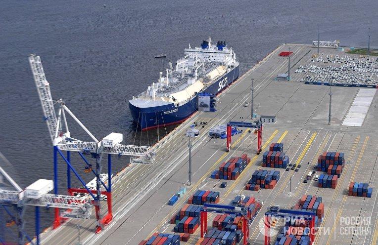Арктический танкер-газовоз «Кристоф де Маржери»