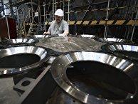 Открытие нового цеха на заводе компании «Сименс» в Санкт-Петербурге