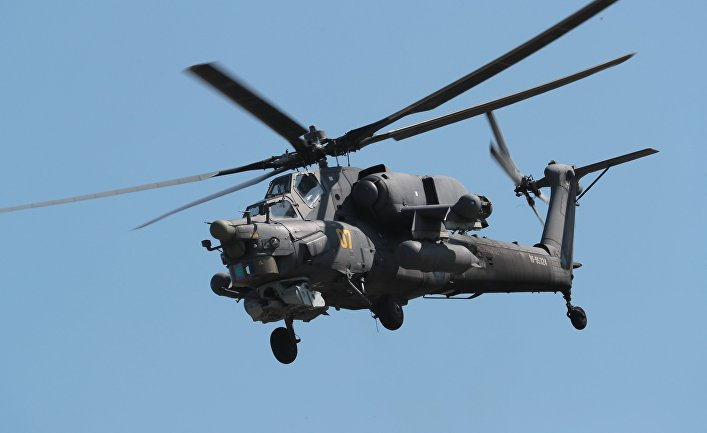 """Ударный вертолет Ми-28Н """"Ночной охотник"""""""