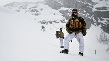 Солдаты на севере Норвегии
