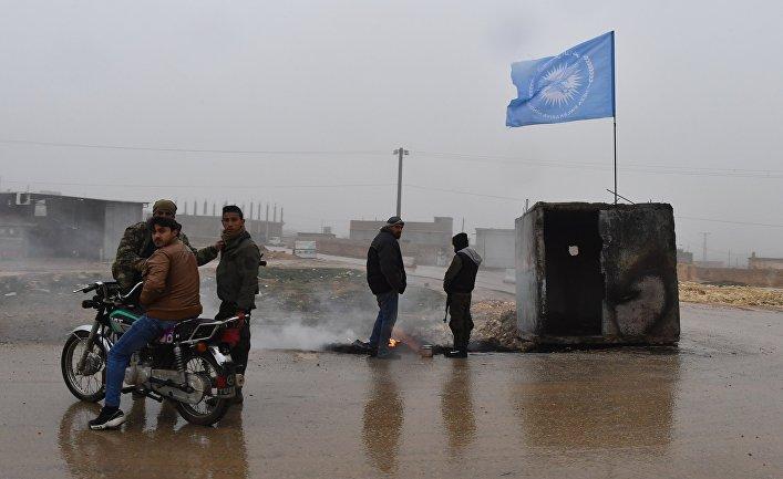 Район Манбидж провинции Алеппо