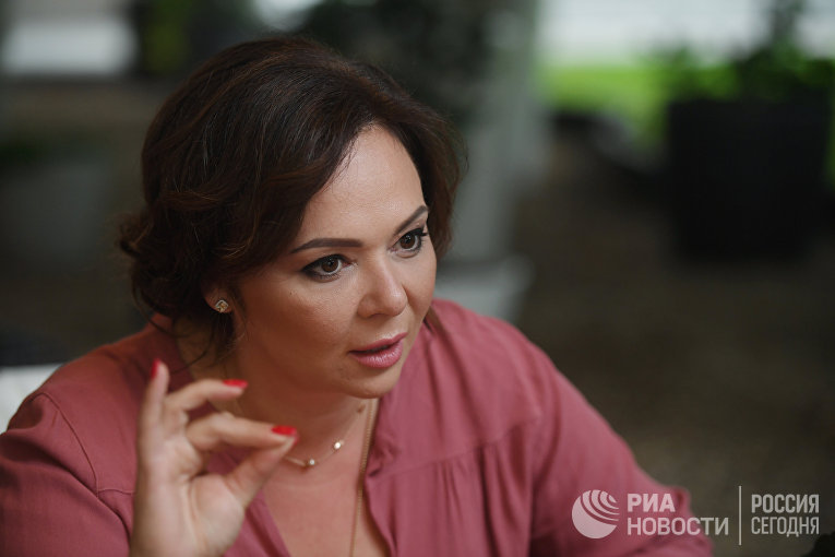 Адвокат Наталья Весельницкая во время интервью