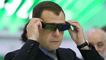Рабочая поездка Дмитрия Медведева в Санкт-Петербург. 3-й день