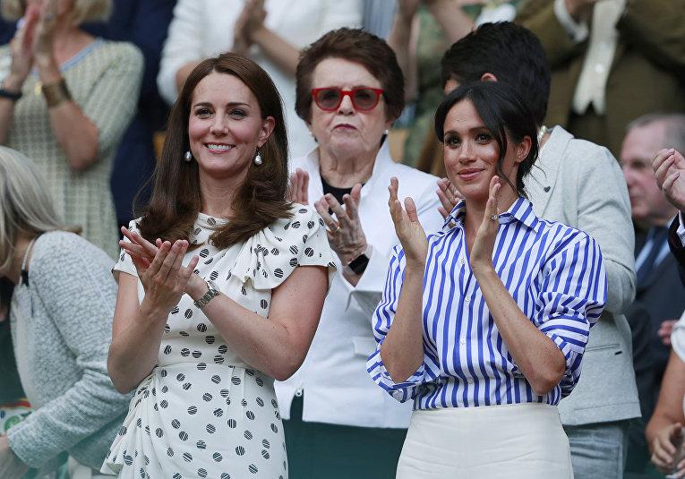 Кейт, герцогиня Кембриджская и Меган, герцогиня Сассекская