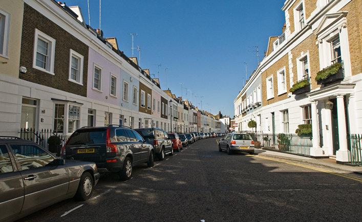 Улица в Челси, Лондон, Великобритания