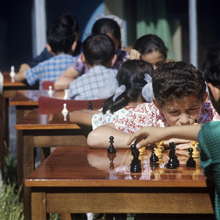 Детская шахматная школа в Ереване