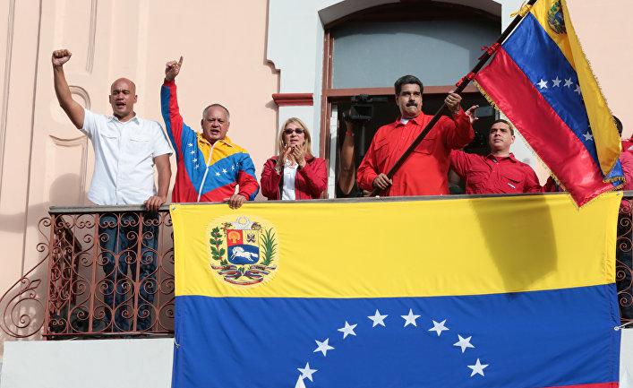 Президент Венесуэлы Николас Мадуро в Каракасе