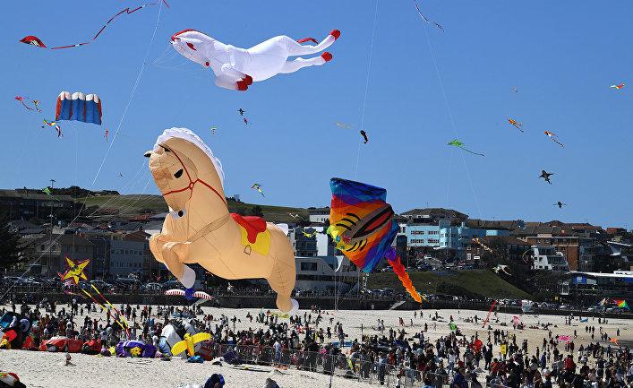 Фестиваль воздушных змеев в Австралии