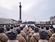 Репетиция парада в честь 75-летия снятия блокады Ленинграда