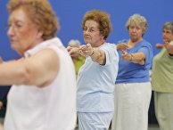 Занятия йогой для пожилых