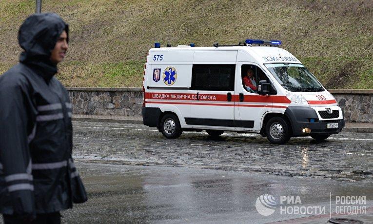 Взрыв произошел в центре Киева