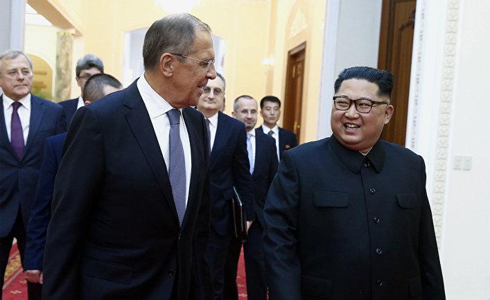 Визит главы МИД РФ С. Лаврова в Северную Корею