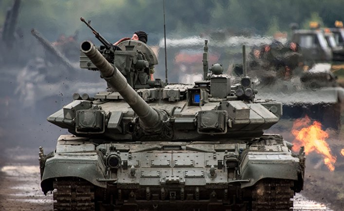 Танки Т-90 на III международном форуме «Технологии в машиностроении — 2014»