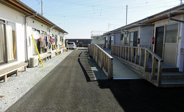 Фукусима: временные дома для тех, кто два года назад потерял свое жилье