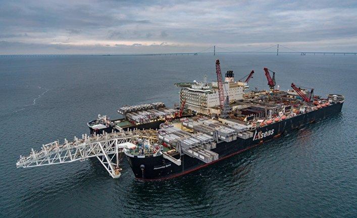 Строительство газопровода «Северный поток - 2»